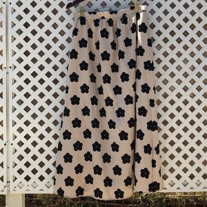Nasty Gal floral maxi mod happy spring skirt